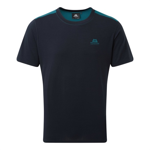 Tričko Mountain Equipment Groundup Colourblock Tee | Spruce/Cosmos XXL