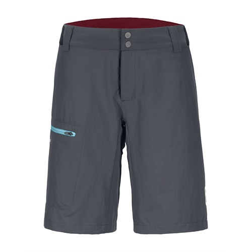 OUTLET - Kraťasy Ortovox W's Pelmo Shorts | black steel L