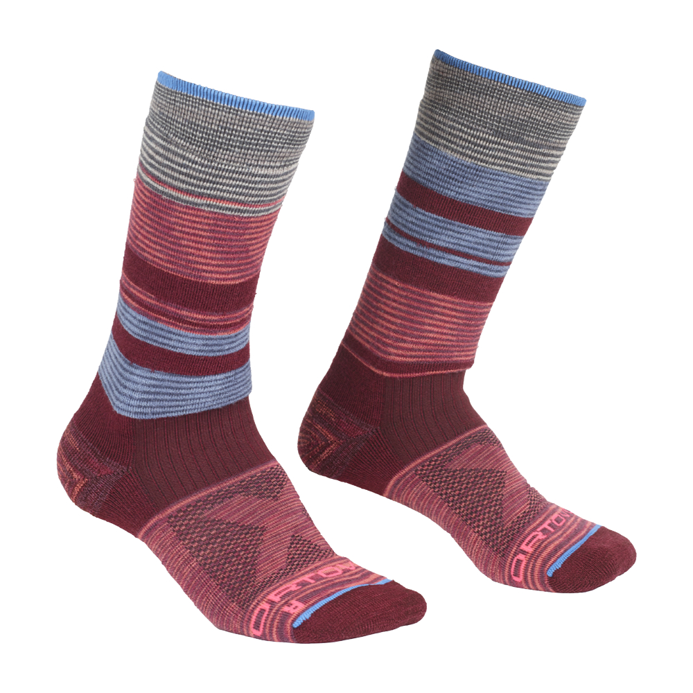 Ponožky Ortovox W's All Mountain Mid Socks Warm  Multicolour 42-44