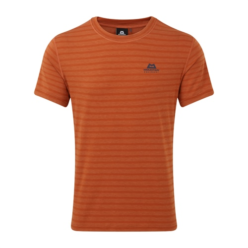 Tričko Mountain Equipment Groundup Tee | Bracken Stripe L