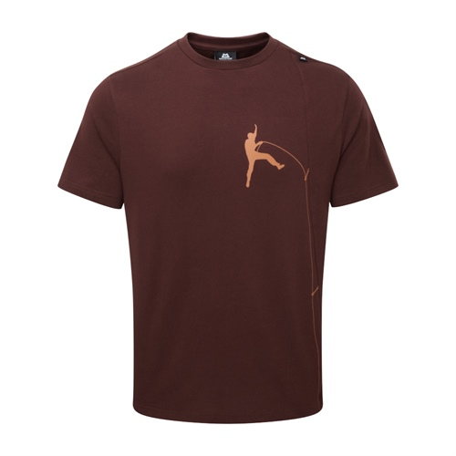 OUTLET - Tričko Mountain Equipment Portland Tee | Dark Chocolate L