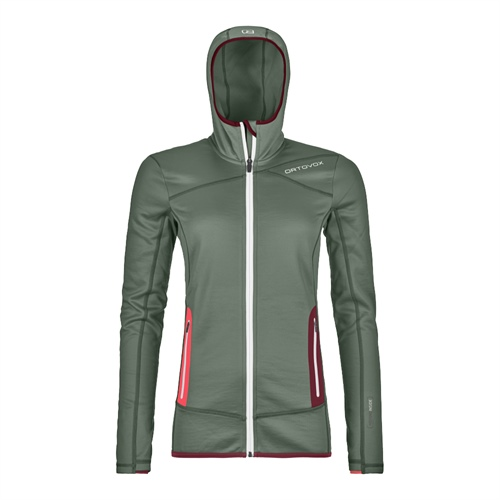 Fleece Ortovox W's Fleece Hoody | Green Forest M