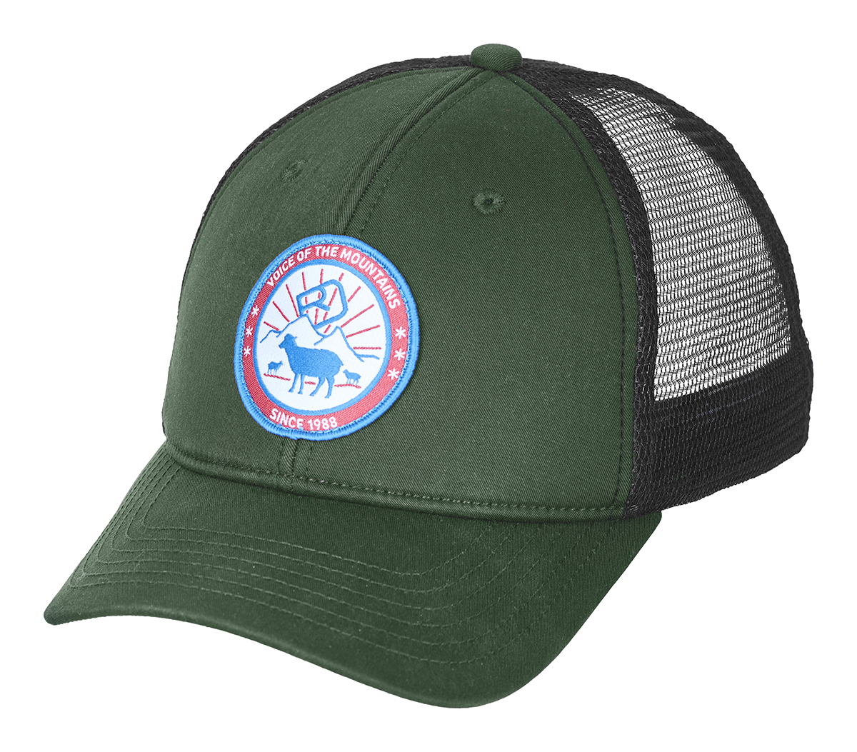 Kšiltovka Ortovox Stay In Sheep Trucker Cap  Green Forrest