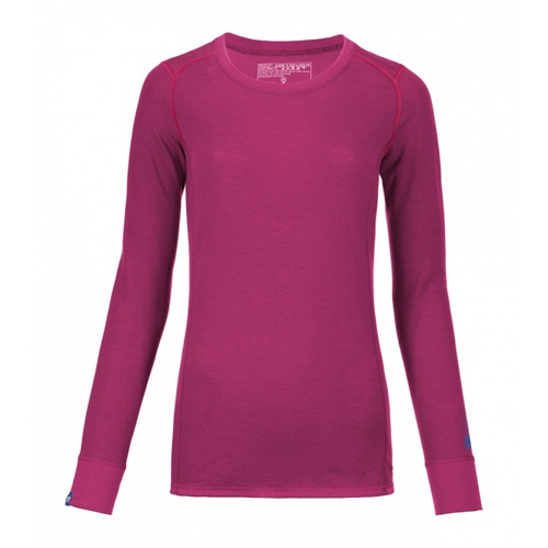 OUTLET - Termoprádlo Ortovox W's Merino Supersoft Long Sleeve | Dark Very Berry L