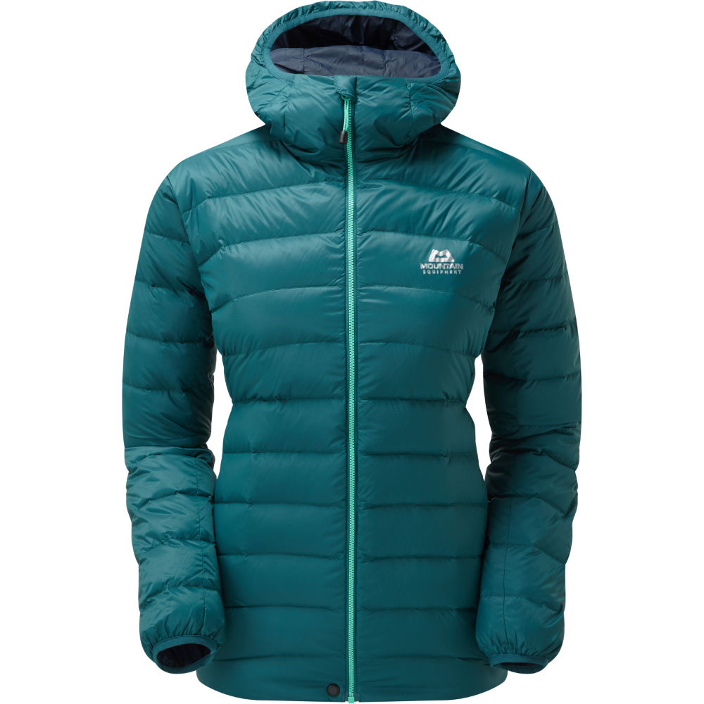 Bunda Mountain Equipment W's Frostline Hooded Jacket  Deep Teal 12