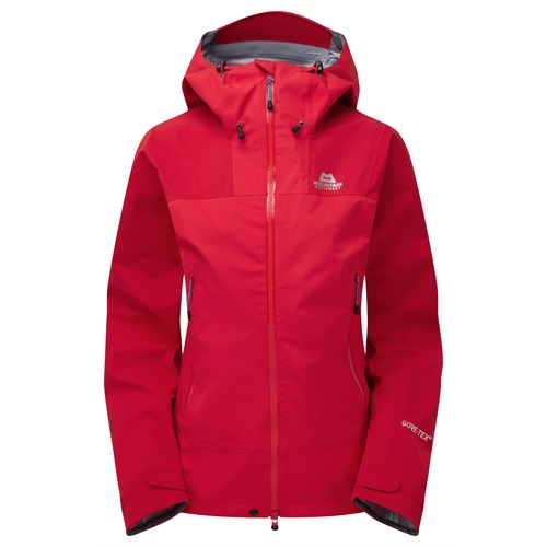 bunda Mountain Equipment Rupal Jacket Wmns | imperial red/crimson 10