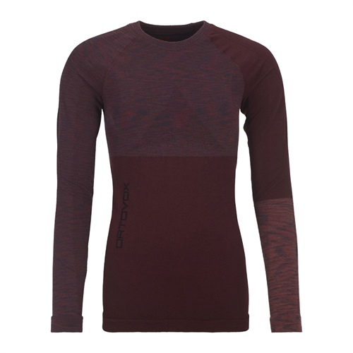 Termoprádlo Ortovox W's 230 Competition Long Sleeve | Dark Wine Blend XS
