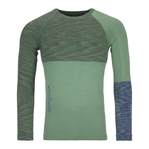 Termoprádlo Ortovox 230 Competition Long Sleeve | Green Isar Blend M