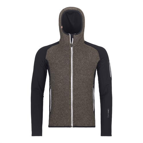 Fleece Ortovox Fleece Plus Classic Knit Hoody | Black Raven M