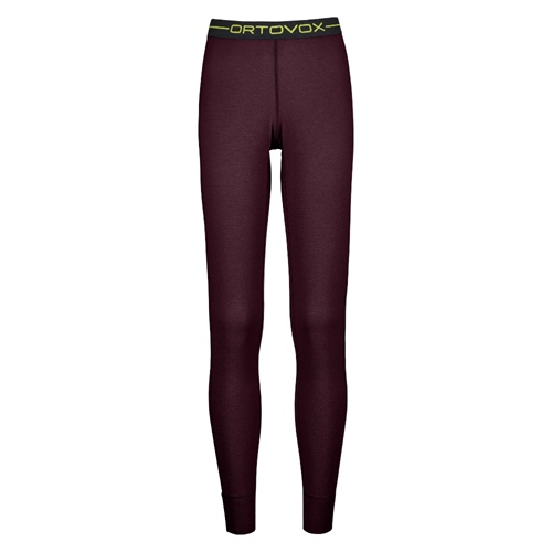 Termoprádlo Ortovox W's 145 Ultra Long Pants | Dark Wine XS