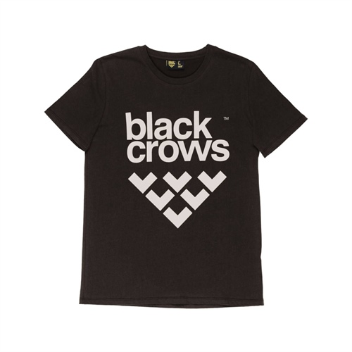 tričko Black Crows T-Shirt Full Logo | black/pink L