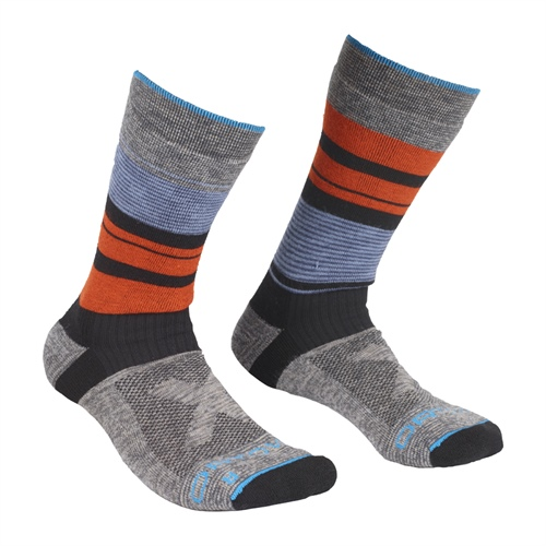 Ponožky Ortovox All Mountain Mid Socks Warm | Multicolour 42-44