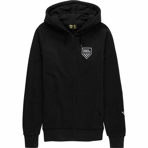 svetr Black Crows Hoodie Full Zip | black M