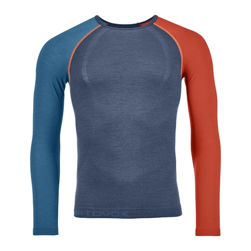 Termoprádlo Ortovox 120 Competition Light Long Sleeve | Night Blue M
