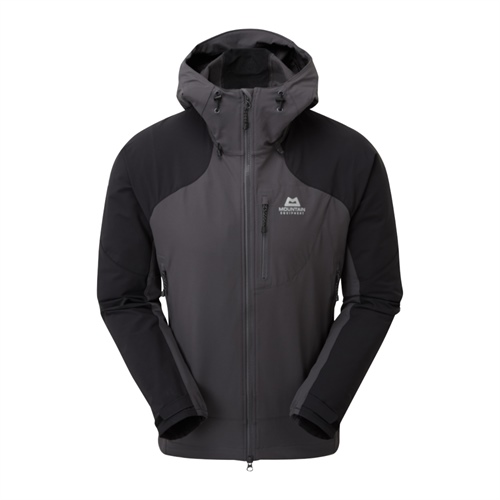 Bunda Mountain Equipment Frontier Hooded Jacket | Anvil Grey/Black S
