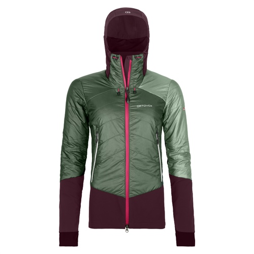 Bunda Ortovox W's Piz Palu Jacket | Green Forest L