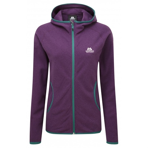 OUTLET - Fleece Mountain Equipment Diablo Hooded Wmns Jacket | Foxglove 8