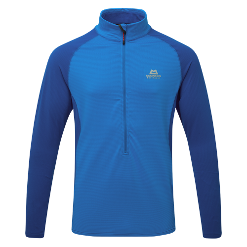 Fleece Mountain Equipment Eclipse Zip-T | Finch Blue/Lapis XXL