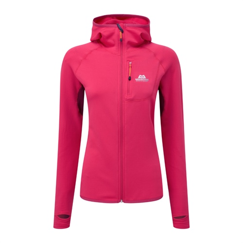Fleece Mountain Equipment W's Eclipse Hooded Jacket | Virtual Pink/Cranberry 12