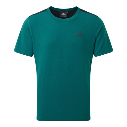 Tričko Mountain Equipment Groundup Colourblock Tee | Cosmos/Spruce M