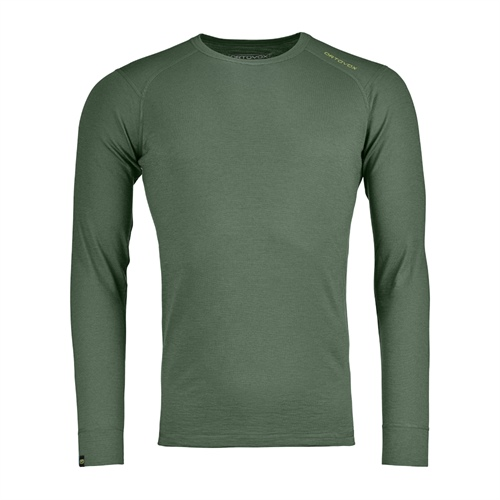 Termoprádlo Ortovox 145 Ultra Long Sleeve | Green Forest M