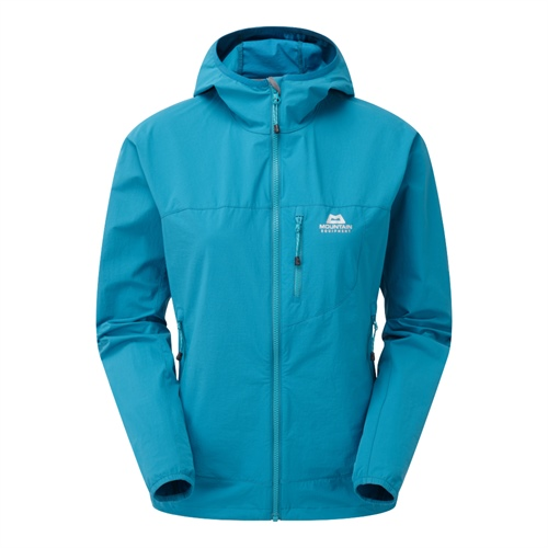 Bunda Mountain Equipment W's Echo Hooded Jacket | Tasman Blue 12