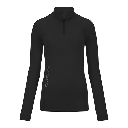 Termoprádlo Ortovox W's Merino Competition Long Sleeve Zipper | Black Raven XS