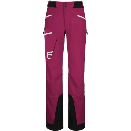 OUTLET - Kalhoty Ortovox W's Medola Pants | Dark Very Berry Long-L