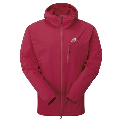 OUTLET - Bunda Mountain Equipment Echo Hooded Jacket | Sangria M