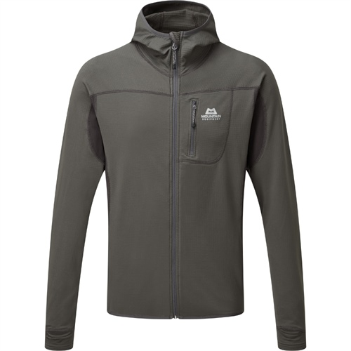 Fleece Mountain Equipment Eclipse Hooded Jacket | Anvil/Obsidian L