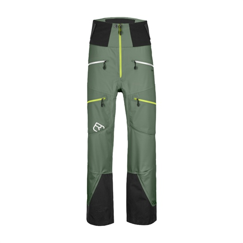 OUTLET - Kalhoty Ortovox Guardian Shell Pants | Green Forest M