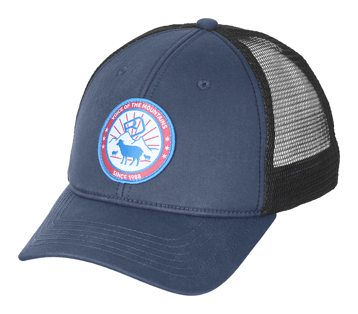Kšiltovka Ortovox Stay In Sheep Trucker Cap  Night Blue