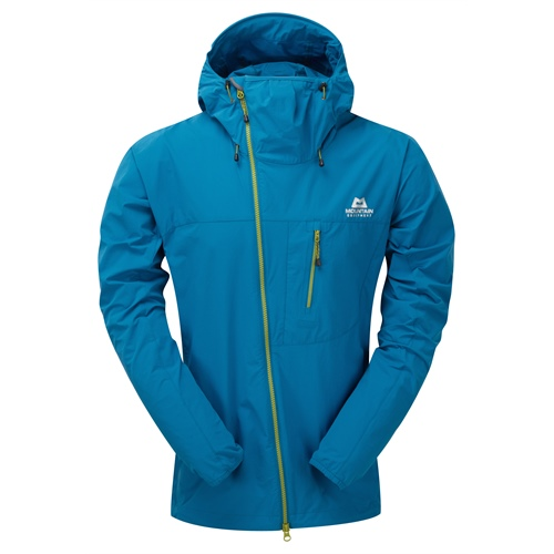 OUTLET - Bunda Mountain Equipment Squall Hooded Jacket | Lagoon Blue M