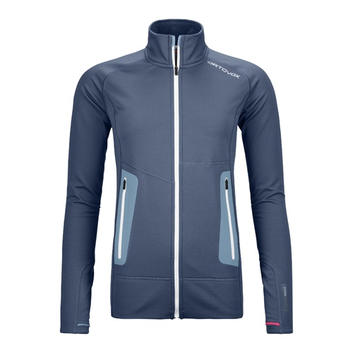 Fleece Ortovox W's Fleece Light Jacket | Night Blue S