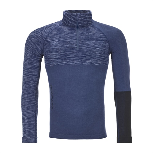 Termoprádlo Ortovox 230 Competition Zip Neck | Night Blue Blend M