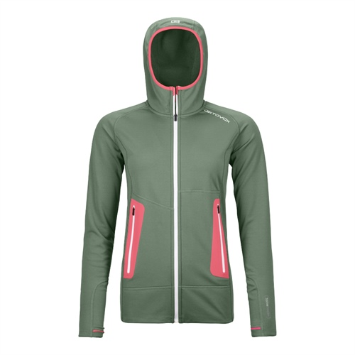 Fleece Ortovox W's Fleece Light Hoody | Green Forest XS
