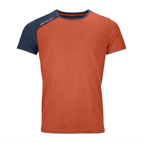 Tričko Ortovox 120 Tec T-Shirt | Desert Orange L