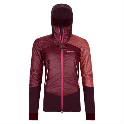 Bunda Ortovox W's Piz Palu Jacket | Dark Blood XL