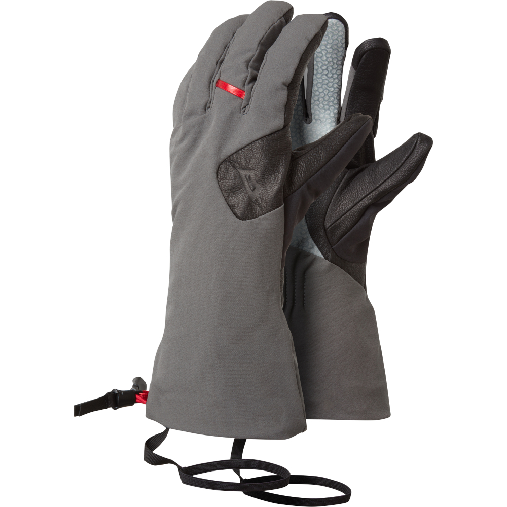 Rukavice Mountain Equipment Direkt Gauntlet  Shadow/Black XXL