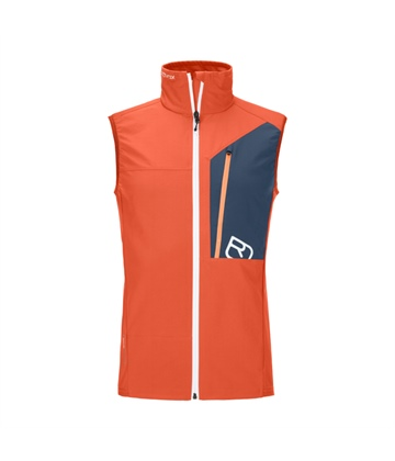 Vesta Ortovox Berrino Vest | Desert Orange S