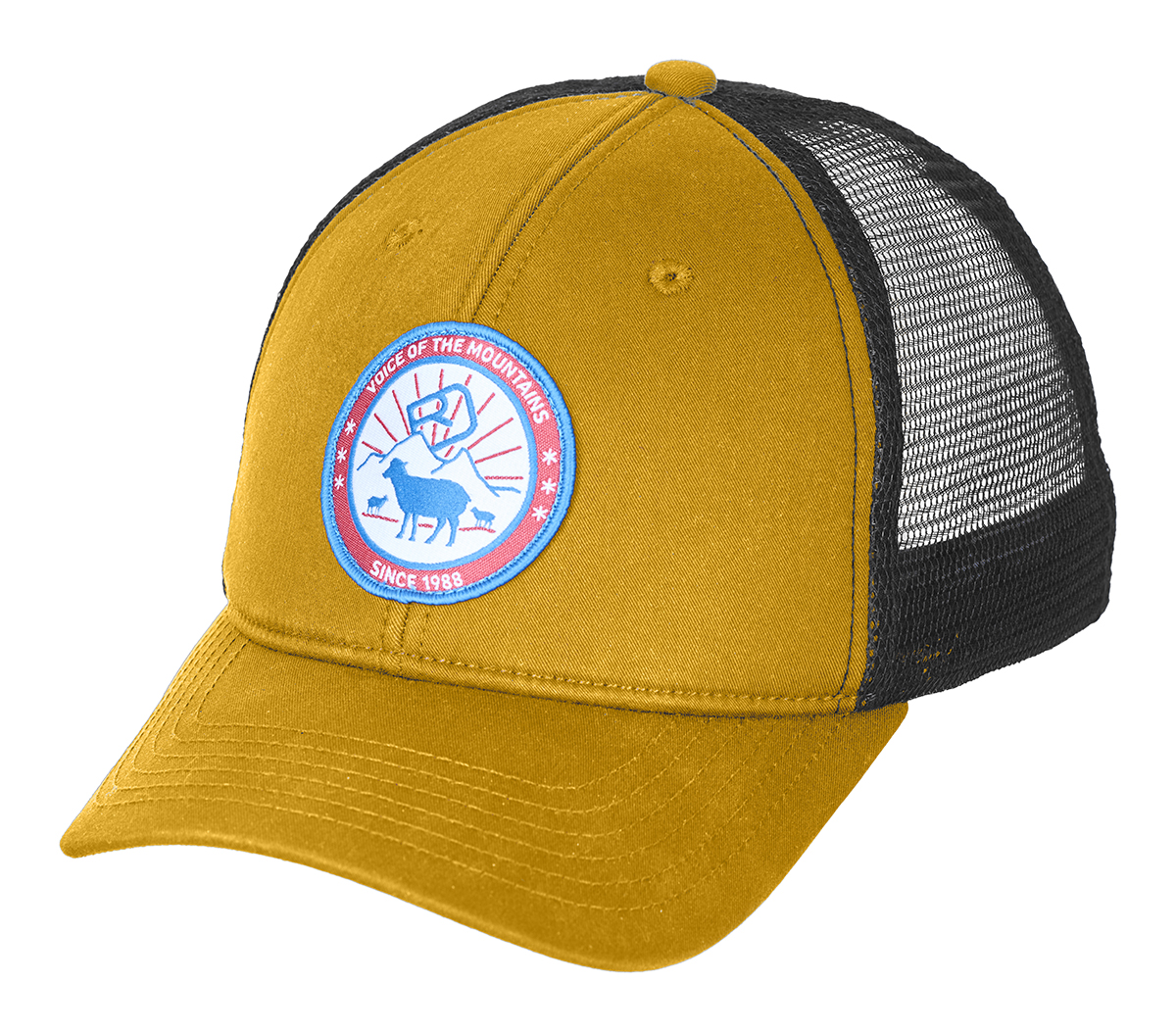 Kšiltovka Ortovox Stay In Sheep Trucker Cap  Yellowstone