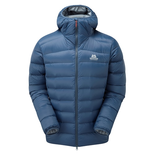 OUTLET - Bunda Mountain Equipment Skyline Hooded Jacket | Denim Blue XL