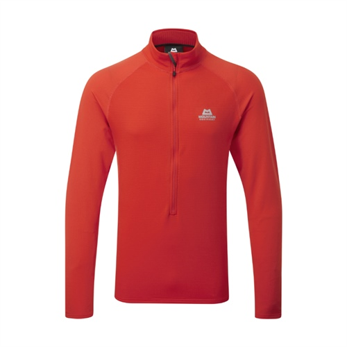Fleece Mountain Equipment Eclipse Zip T | cardinal orange L