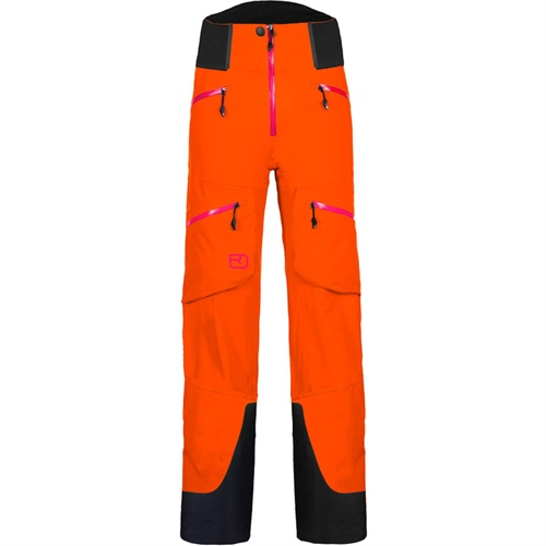 OUTLET - Kalhoty Ortovox W's Guardian Shell Pants | Crazy Orange M