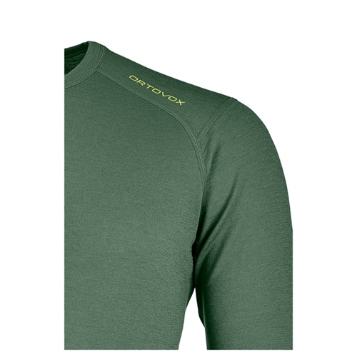 Termoprádlo Ortovox 145 Ultra Long Sleeve | Green Forest L