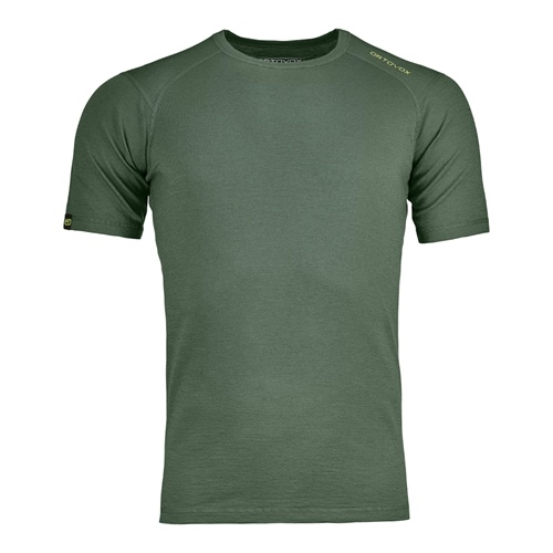 Termoprádlo Ortovox 145 Ultra Short Sleeve | Green Forest M