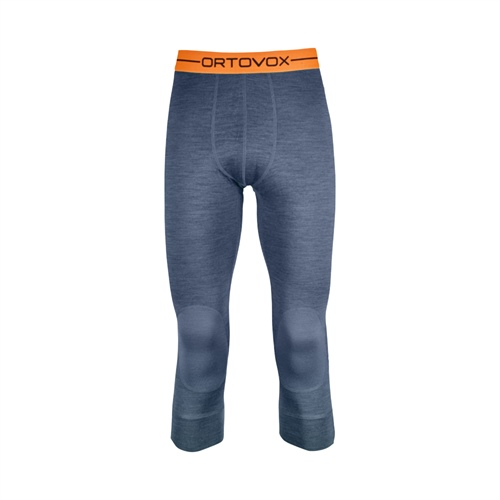 OUTLET - Termoprádlo Ortovox 185 Rock'n'Wool Short Pants | night blue blend S