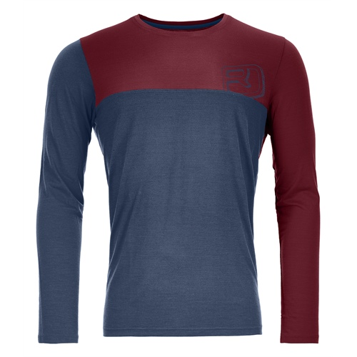 Termoprádlo Ortovox 150 Cool Logo Long Sleeve | night blue XL