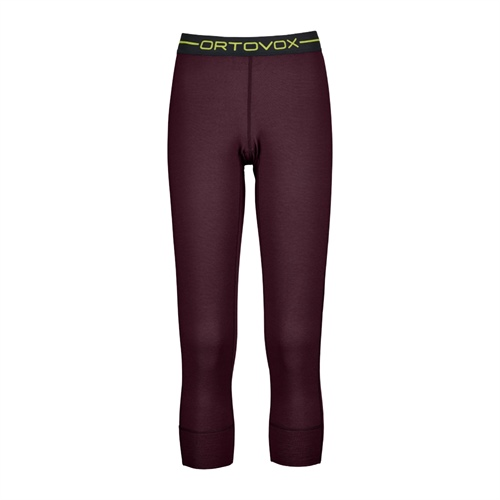 Termoprádlo Ortovox W's 145 Ultra Short Pants | Dark Wine M