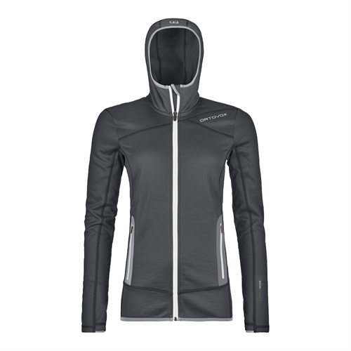 Fleece Ortovox W's Fleece Hoody | Black Steel M